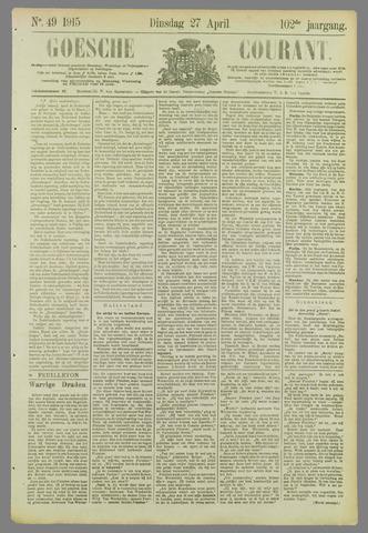 Goessche Courant 1915-04-27