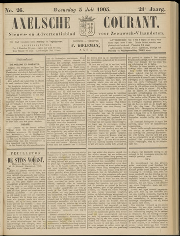 Axelsche Courant 1905-07-05