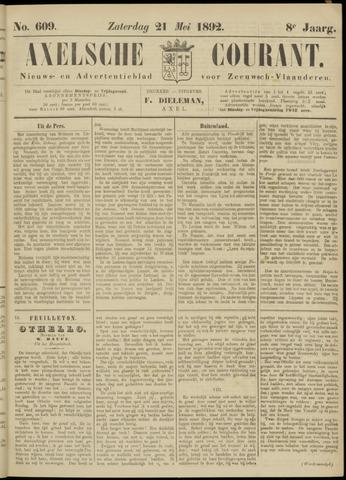 Axelsche Courant 1892-05-21