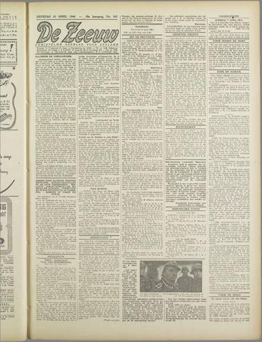De Zeeuw. Christelijk-historisch nieuwsblad voor Zeeland 1944-04-10