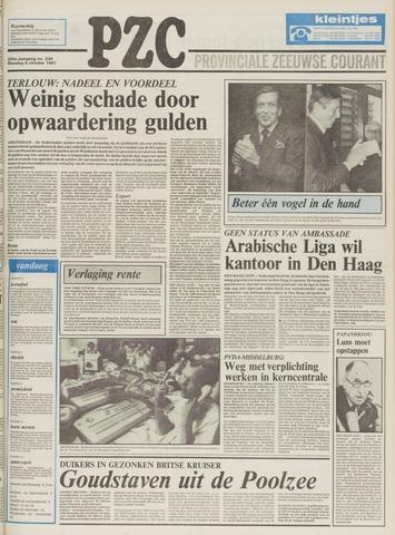 Provinciale Zeeuwse Courant 1981-10-06