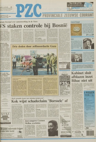 Provinciale Zeeuwse Courant 1994-11-12