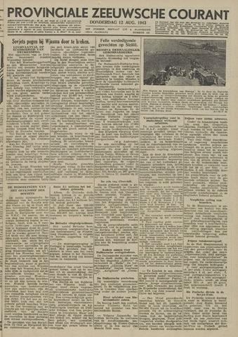 Provinciale Zeeuwse Courant 1943-08-12