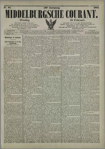 Middelburgsche Courant 1893-02-21