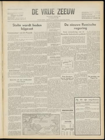 de Vrije Zeeuw 1953-03-09