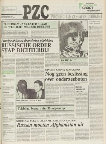 Provinciale Zeeuwse Courant 1981-02-14