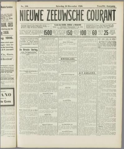 Nieuwe Zeeuwsche Courant 1916-12-30