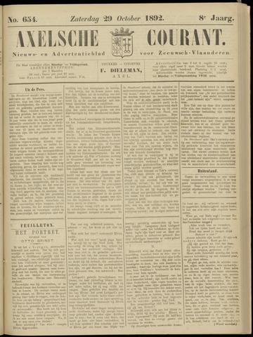 Axelsche Courant 1892-10-29