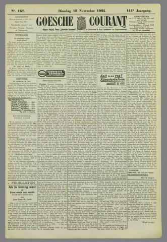 Goessche Courant 1924-11-18