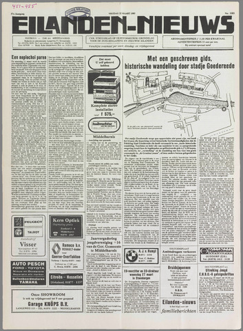 Eilanden-nieuws. Christelijk streekblad op gereformeerde grondslag 1985-03-22