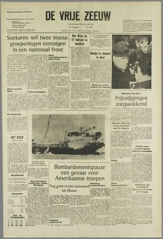 de Vrije Zeeuw 1966-01-27