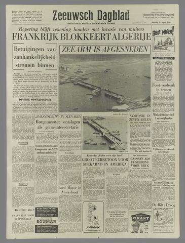 Zeeuwsch Dagblad 1961-04-25