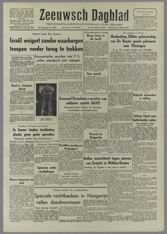 Zeeuwsch Dagblad 1957-01-14