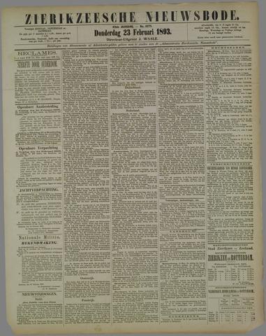 Zierikzeesche Nieuwsbode 1893-02-23