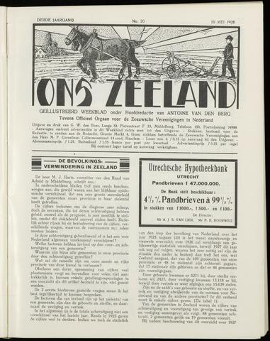Ons Zeeland / Zeeuwsche editie 1928-05-19