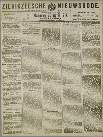 Zierikzeesche Nieuwsbode 1917-04-23