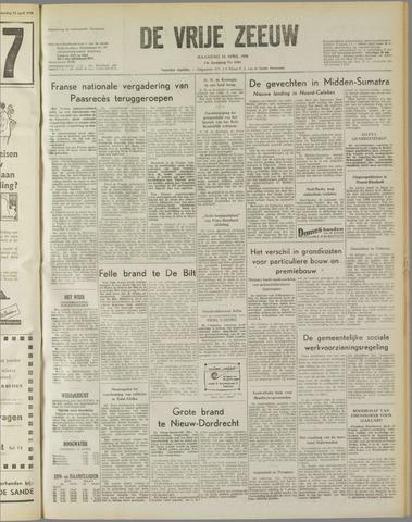 de Vrije Zeeuw 1958-04-14