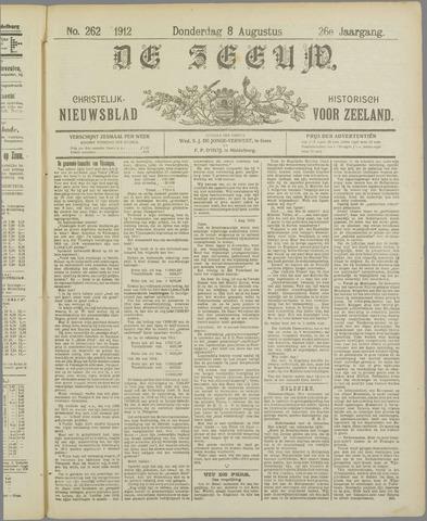 De Zeeuw. Christelijk-historisch nieuwsblad voor Zeeland 1912-08-08