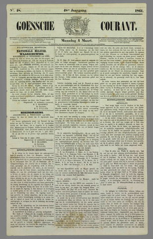 Goessche Courant 1861-03-04