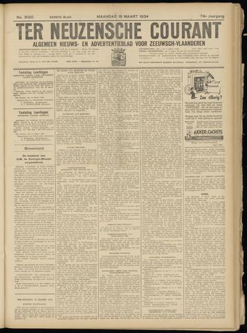 Ter Neuzensche Courant. Algemeen Nieuws- en Advertentieblad voor Zeeuwsch-Vlaanderen / Neuzensche Courant ... (idem) / (Algemeen) nieuws en advertentieblad voor Zeeuwsch-Vlaanderen 1934-03-19