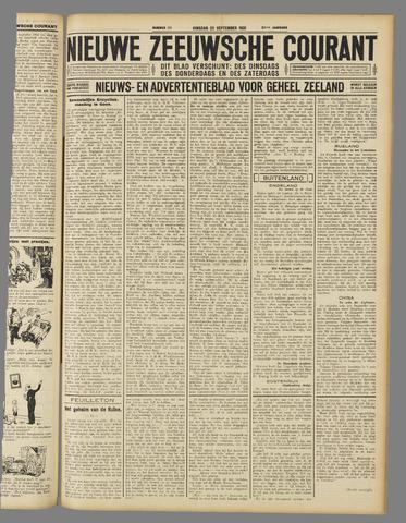 Nieuwe Zeeuwsche Courant 1931-09-22