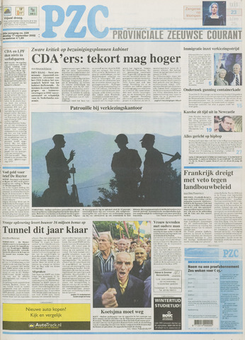 Provinciale Zeeuwse Courant 2002-09-17