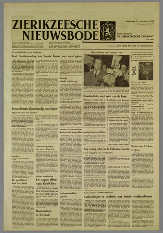 Zierikzeesche Nieuwsbode 1962-11-15