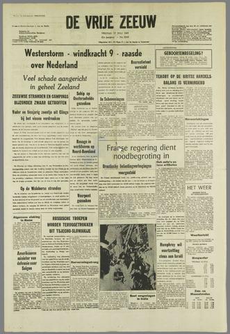 de Vrije Zeeuw 1968-07-12