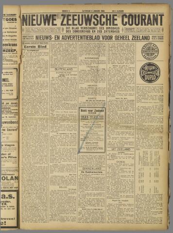 Nieuwe Zeeuwsche Courant 1924-01-05