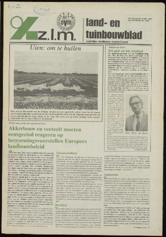Zeeuwsch landbouwblad ... ZLM land- en tuinbouwblad 1981-11-06