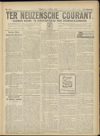 Ter Neuzensche Courant. Algemeen Nieuws- en Advertentieblad voor Zeeuwsch-Vlaanderen / Neuzensche Courant ... (idem) / (Algemeen) nieuws en advertentieblad voor Zeeuwsch-Vlaanderen 1930-04-04