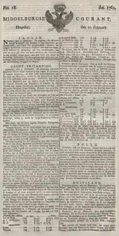 Middelburgsche Courant 1761-02-10