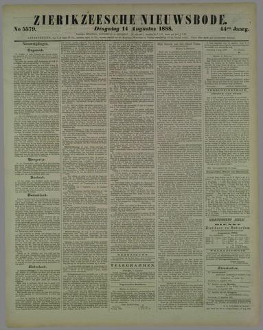 Zierikzeesche Nieuwsbode 1888-08-14