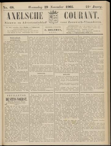 Axelsche Courant 1905-11-29