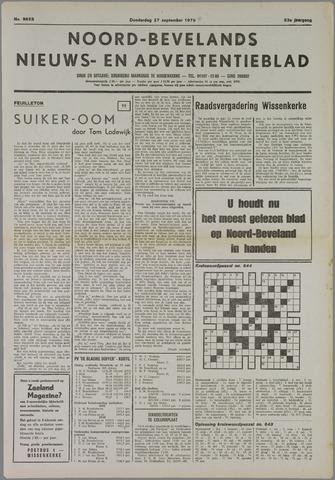 Noord-Bevelands Nieuws- en advertentieblad 1979-09-27