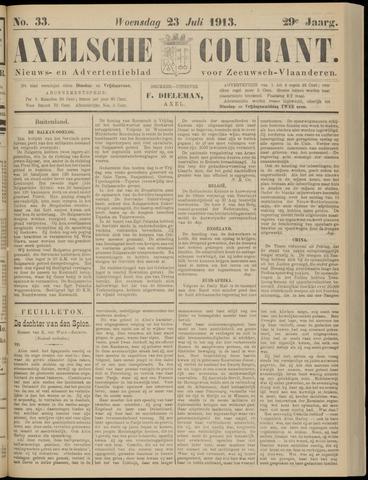 Axelsche Courant 1913-07-23