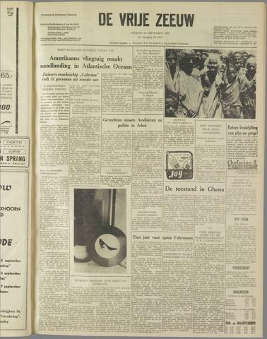 de Vrije Zeeuw 1962-09-25