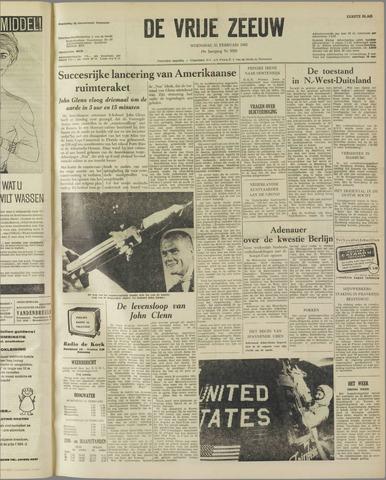 de Vrije Zeeuw 1962-02-21