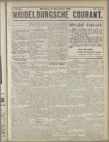 Middelburgsche Courant 1922-12-11