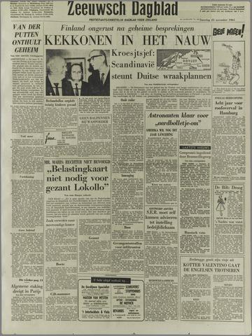 Zeeuwsch Dagblad 1961-11-25