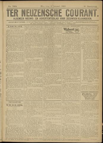Ter Neuzensche Courant. Algemeen Nieuws- en Advertentieblad voor Zeeuwsch-Vlaanderen / Neuzensche Courant ... (idem) / (Algemeen) nieuws en advertentieblad voor Zeeuwsch-Vlaanderen 1926-01-18