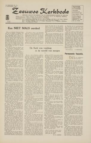Zeeuwsche kerkbode, weekblad gewijd aan de belangen der gereformeerde kerken/ Zeeuwsch kerkblad 1964-09-25