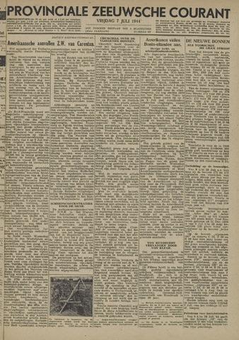 Provinciale Zeeuwse Courant 1944-07-07