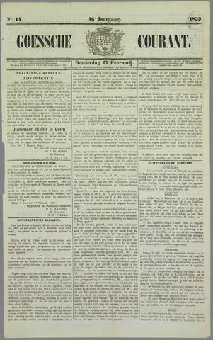 Goessche Courant 1859-02-17