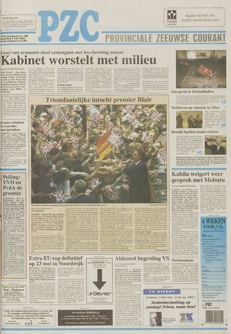 Provinciale Zeeuwse Courant 1997-05-03