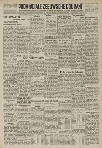 Provinciale Zeeuwse Courant 1946-12-16