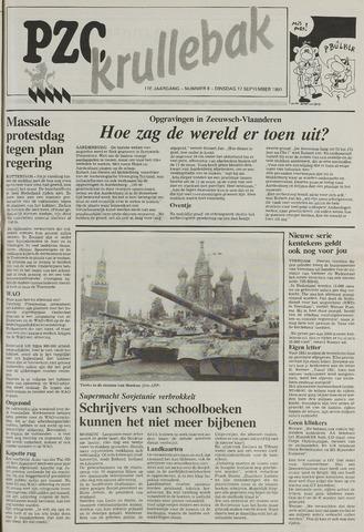 Provinciale Zeeuwse Courant katern Krullenbak (1981-1999) 1991-09-17