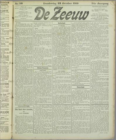 De Zeeuw. Christelijk-historisch nieuwsblad voor Zeeland 1919-10-23