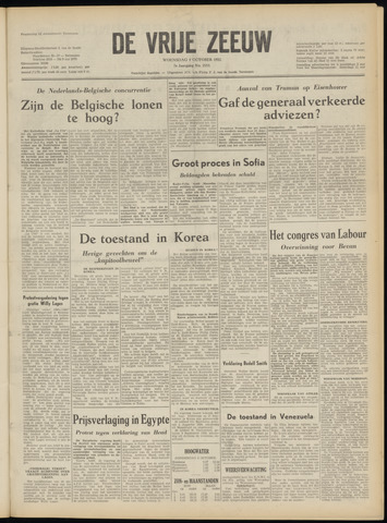 de Vrije Zeeuw 1952-10-01