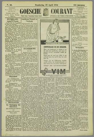 Goessche Courant 1924-04-10